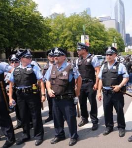 fot. Jacek Boczarki - InformacjeUSA/ Na chicagowskie ulice wyjdzie więcej policjantów