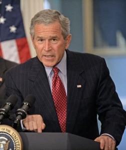 fot.Eric Draper/ George W. Bush otrzymał w ubiegłym roku od państwa 1,3 mln dolarów pomocy finansowej