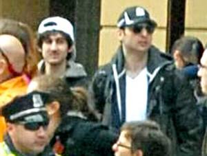 Tamerlan i Dżochar Carnajewowie fot:.FBI