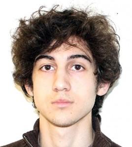 Jeden z domniemanych sprawców zamachu bombowego w Bostonie, Dżochar Carnajew. fot.:FBI