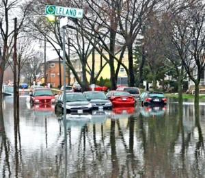 Skrzyżowanie ulic Oriole Ave. i Ainsle w Harwood Heights fot.: Marek Dobrzycki