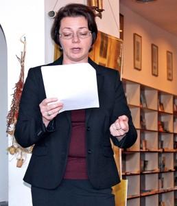 Kinga Kosmala prezentuje twórczość Ryszarda Kapuścińskiego