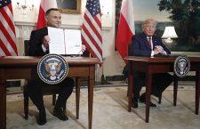 US President Donald J. Trump hosts Polish President Andrzej Duda at the White House, Washington, USA - 12 Jun 2019