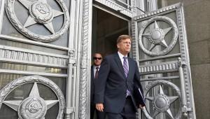 Ambassador to Russia Michael McFaul fot. Yuri Kochetkov/PAP/EPA