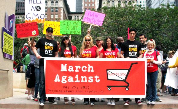 W marszu Against Monsanto wzięło udział ponad 2 miliony ludzi fot. Robin Arcuri/Flickr