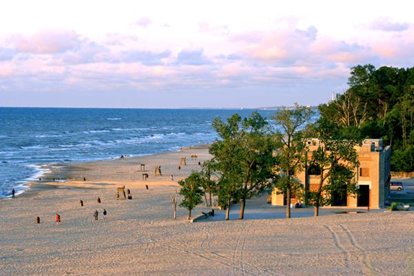 Indiana Dunes National Lakeshore fot. JoeyBLS-Wikimedia