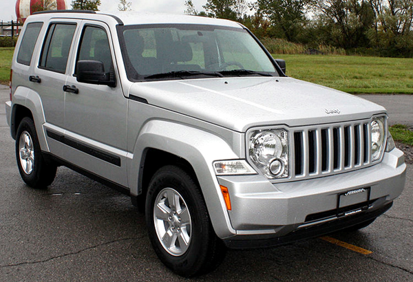 Jeep Liberty fot. U.S. National Highway Traffic Safety Administration