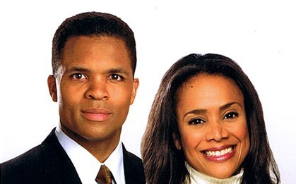 Jesse Jackson Jr. i Sandi Jackson fot. Victor Powell