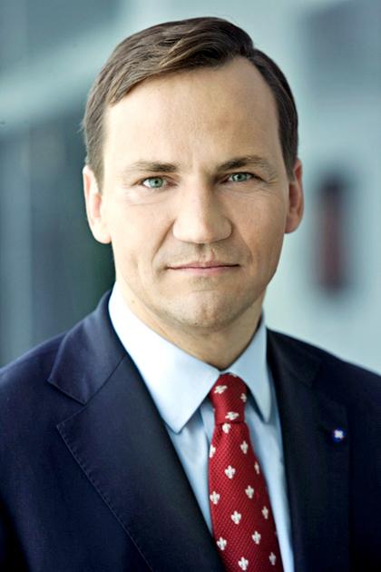 Radosław Sikorski, minister spraw zagranicznych fot. radeksikorski.pl
