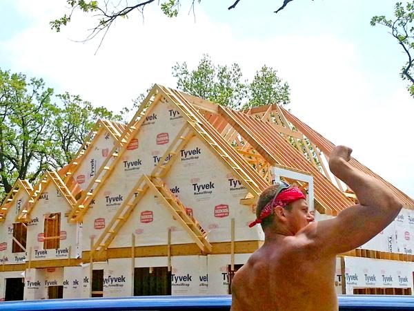 Marcel Pasalka od lat buduje domy w Chicago fot. Paweł Zagata/Facebook