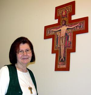 Teresa Mirabella, dyrektorka schroniska dla bezdomnych Anavim fot. A. Kazimierczak