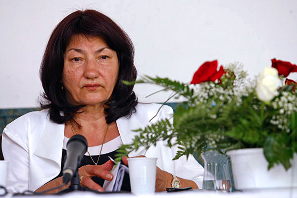 Zofia Cisak, matka Roberta Dziekańskiego od lat walczy o sprawiedliwość fot. Wojtek Kamiński/PAP