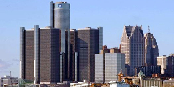 Detroit fot. Jeff Hall/Wikimedia
