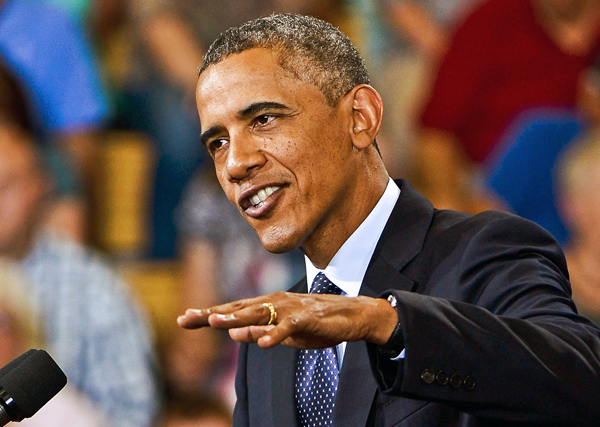 Prezydent Barack Obama fot. Tannen Maury/PAP/EPA