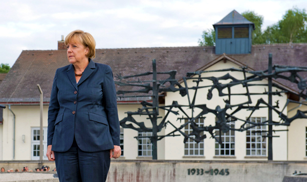 Angela Merkel, kanclerz Niemiec fot. Inga Kje/PAP/EPA