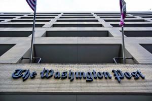 Budynek Washington Post w Waszyngtonie fot. Jim Lo Scalzo/PAP/EPA