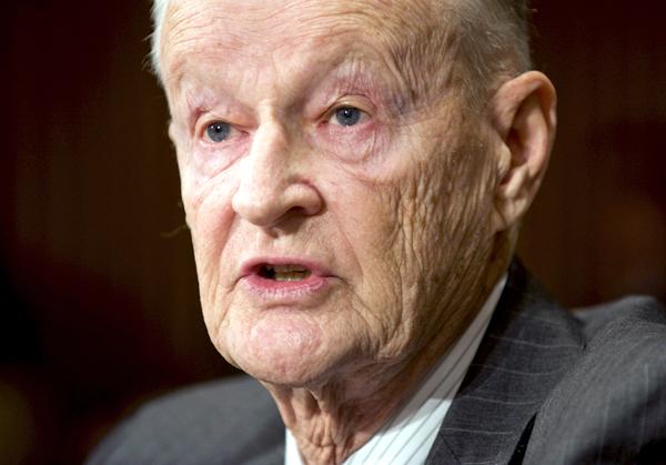Zbigniew Brzeziński, były doradca ds. bezpieczeństwa narodowego USA fot. Matthew Cavanaugh/PAP/EPA