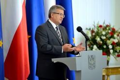 Prezydent Bronisław Komorowski laureatem nagrody Atlantic Council