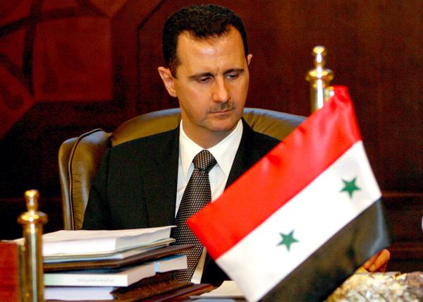 Prezydent Syrii Baszar el-Asad fot. Nabil Mounzer/PAP/EPA