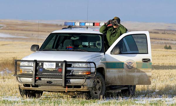 Straż graniczna fot. U.S. Fish and Wildlife Service