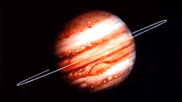 Jedno ze zdjęć Jowisza nadesłane przez Voyagera 1 fot. NASA