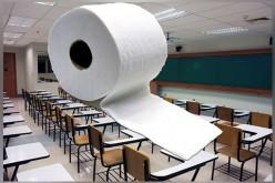 Zbiórka papieru toaletowego dla szkół w Chicago