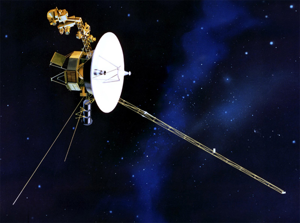 Voyager 1 fot. NASA
