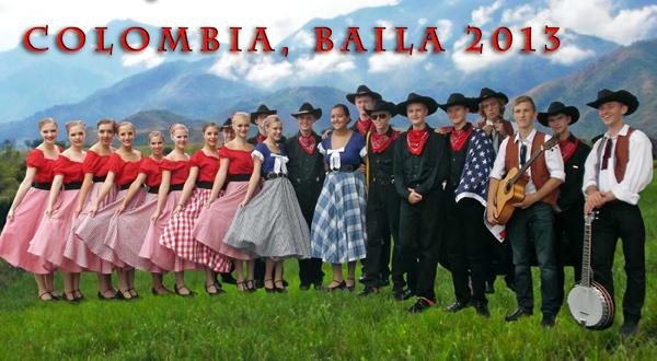 Wici oraz kapela zespołowa na tle Kordylerów w Kolumbii