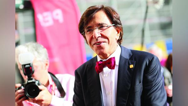 Belgijski premier Elio Di Rupo fot. Olivier Hoslet/PAP/EPA