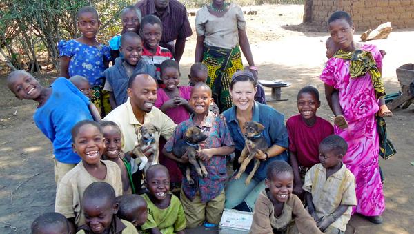 Często mamy dużo pomocy od dzieci mieszkających na wioskach