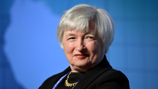 Janet Yellen, nowa szefowa Fed fot. Franck Robichon/PAP/EPA