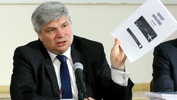 Maciej Lasek, przewodniczący Państwowej Komisji Badania Wypadków Lotniczych fot. Paweł Supernak/PAP