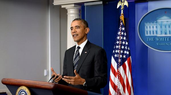 Prezydent USA Barack Obama fot. Michael Reynolds/PAP/EPA