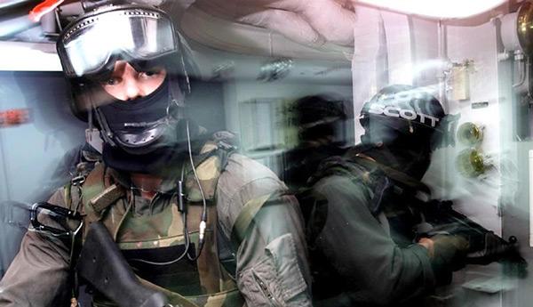 Agenci Navy SEAL w akcji fot. EPA/PAP Shane McCoy