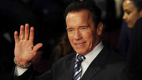 Arnold Schwarzenegger  fot.Facundo Arrizabalaga/EPA