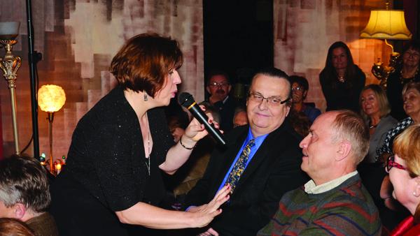 Barbara Panecka jeden z utworów dedykowała wybranemu gościowi wieczoru