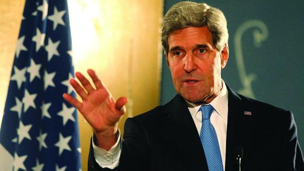 John Kerry, sekretarz stanu Stanów Zjednoczonych fot. Khaled Elfiqi/PAP/EPA