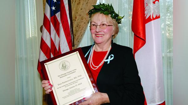 Laureatka dorocznego wyróżnienia prof. Ewa Radwańska