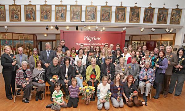 Grono wspierajace MPA: wolontariusze, pracownicy, przyjaciele fot. Julita Siegel