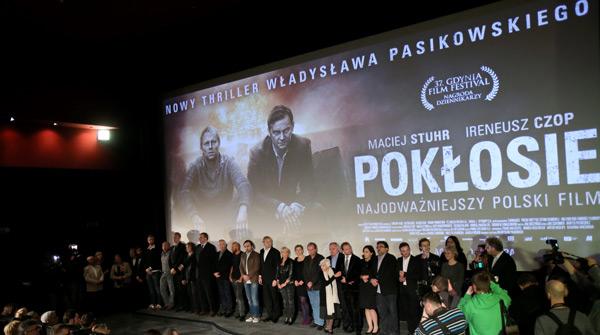 """Polska premiera """"Pokłosia"""" fot. PAP/ Leszek Szymański"""