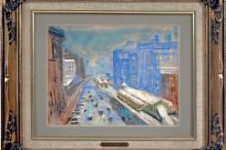 James Thompson wystawia dzieła sztuki na aukcję