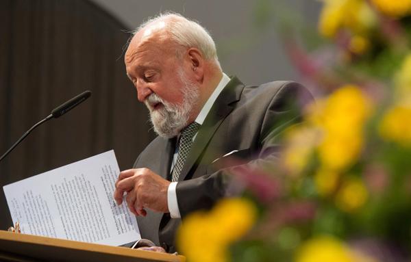 Krzysztof Penderecki fot. Patrick Pleul/EPA