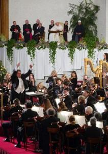 Koncert dla papieża Jana Pawła II w Watykanie fot.Danilo Schiavella/PAP/EPA