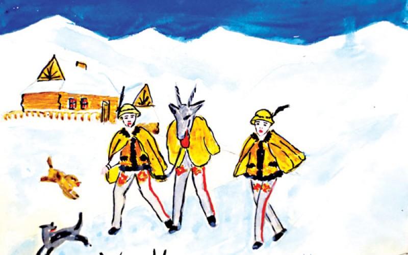 Tradycje świąteczne oczami polskich dzieci okresu międzywojennego. Z archiwum Muzeum Polskiego w Ameryce