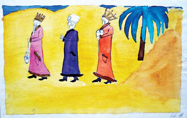 Trzej Królowie, autor nieznany lat 11