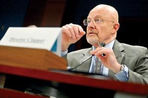 James Clapper, szef wywiadu USA fot.Shawn Thew/PAP/EPA