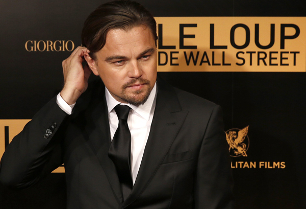 The Wolf of Wall Street Premiere in Paris