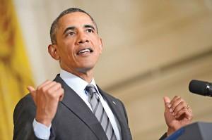 Prezydent Barack Obama  fot.Shawn Thew/PAP/EPA
