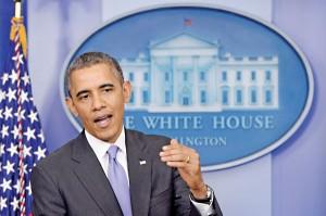 Prezydent Barack Obama fot.Michael Reynolds/PAP/EPA