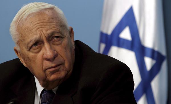 Ariel Szaron zmarł w sobotę w wieku 85 lat fort. Jack Hollander/PAP/EPA